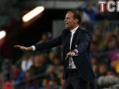 Ювентус  решил поднять зарплату Аллегри после победы над  Барселоной  в Лиге чемпионов