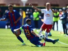 Барселона  проиграла в полуфинале юношеской лиги УЕФА