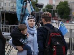 В столице отметили годовщину депортации крымскотатарского народа. Фоторепортаж