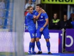 Украинец Малиновский красивым голом помог  Генку  победить в матче Лиги Европы