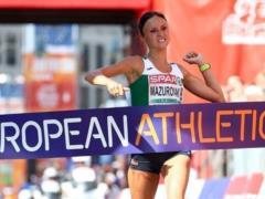 Белоруска выиграла марафон, истекая кровью