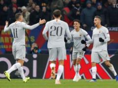 Рома  одержала победу над ЦСКА в Лиге чемпионов
