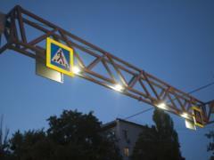 В Киеве на наземных пешеходных переходах обустроят сенсорное освещение