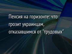Пенсия на горизонте: что грозит украинцам, отказавшимся от  трудовых