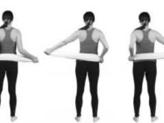 Гимнастика Дикуля: упражнения для спины и позвоночника часть2