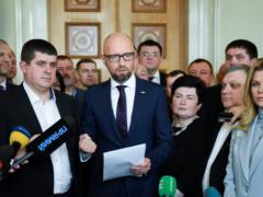 Яценюк: Украине нужен пошаговый план ускоренного получения членства в НАТО