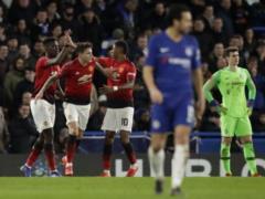 Манчестер Юнайтед  на выезде разобрался с  Челси  и стал последним четвертьфиналистом Кубка Англии
