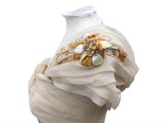 Платье принцессы Маргарет снова вышло в свет 70 лет спустя