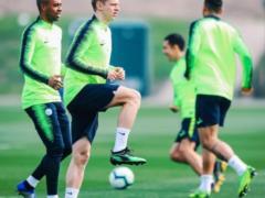 Зинченко вернулся после травмы и позанимался с  Манчестер Сити