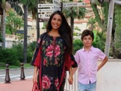 Санта Димопулос рассказала, как отреагировал старший сын на ее беременность