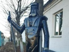 В Нежине открыли памятник то ли Дворнику, то ли Дон-Кихоту