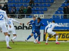 Все решил пенальти на 90+2-й минуте:  Динамо  сенсационно потеряло очки в игре с  Десной  в Киеве