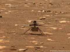 Беспилотник Ingenuity совершил первый полет на Марсе