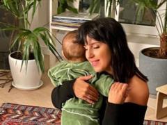 Джамала впервые показала лицо 10-месячного сына