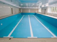 В оздоровительном комплексе на Харьковщине построили новый бассейн