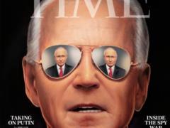 Журнал Time в преддверии встречи президентов США и РФ поместил на обложку Джо Байдена