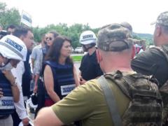 Глава ОБСЕ прибыла в зону ООС