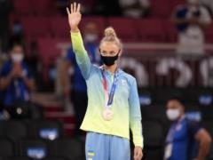 Первая медаль Украины на Олимпиаде-2020: как в Токио награждали Дарью Билодид