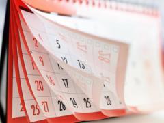 В следующем году в Украине дважды будет по четыре выходных дня подряд