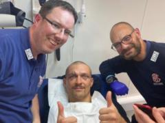 Усику после победы над Джошуа зашили рассечение над глазом: как проходила операция