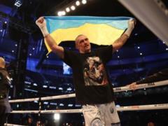 Жду поясов, чтобы поехать домой : Усик собрался в Крым праздновать победу над Джошуа